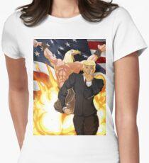 Trump's Bizarre Election - Jojo's Bizarre Adventure Trump Women's Fitted T-Shirt