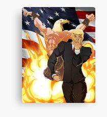 Trump's Bizarre Election - Jojo's Bizarre Adventure Trump Canvas Print