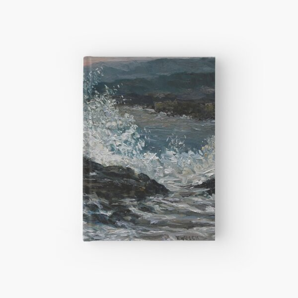 Point No Point Mid-storm Hardcover Journal