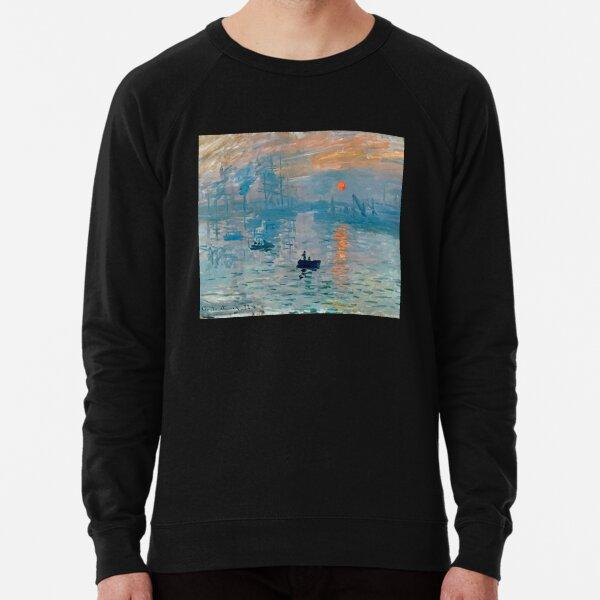 Impression Sunrise By Claude Monet  Lightweight Sweatshirt