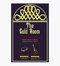 The Gold Room Photographic Print