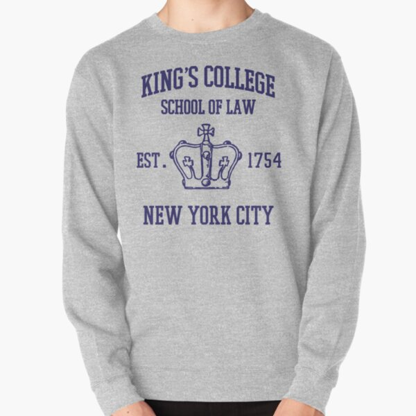 HAMILTON BROADWAY MUSICAL King's College School of Law Est. 1854 Greatest City in the World Pullover Sweatshirt