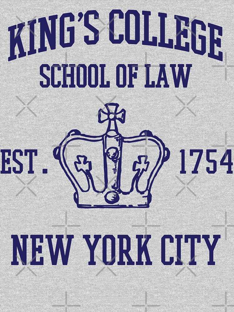 HAMILTON BROADWAY MUSICAL Escuela de Derecho King's College Est. 1854 La ciudad más grande del mundo de yellowdogtees