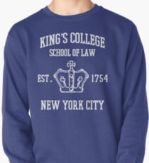 HAMILTON BROADWAY MUSICAL King's College School of Law Est. 1854 Greatest City in the World Pullover