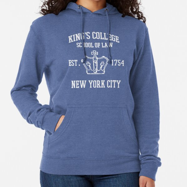 HAMILTON BROADWAY MUSICAL King's College School of Law Est. 1854 Greatest City in the World Lightweight Hoodie