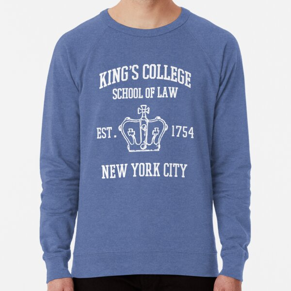 HAMILTON BROADWAY MUSICAL King's College School of Law Est. 1854 Greatest City in the World Lightweight Sweatshirt