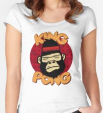 King Pong Women's Fitted Scoop T-Shirt