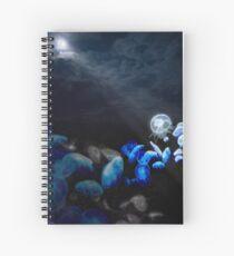 Moon Jellyfish Spiral Notebook