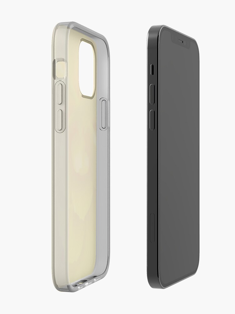 Alternate view of Yellow iPhone Case & Cover