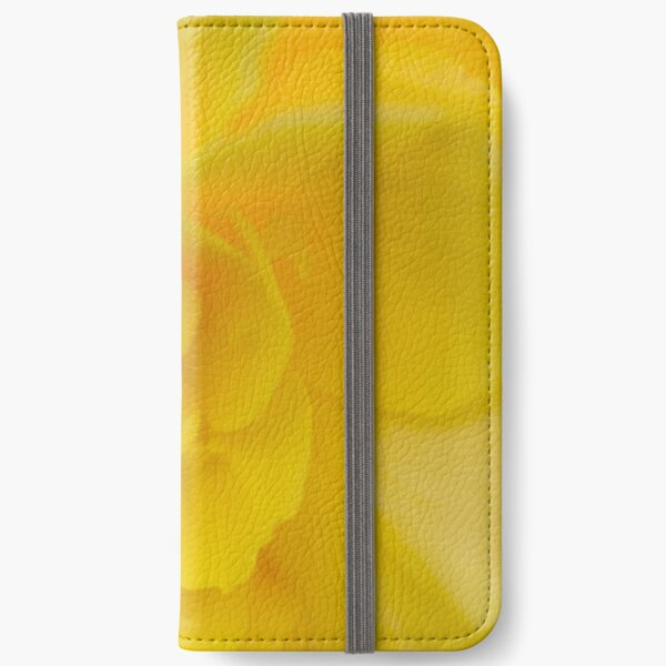 Yellow iPhone Wallet