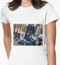 Time Collision Women's Fitted T-Shirt