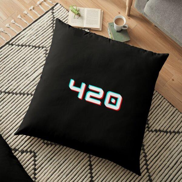 420 - Tik Tok Style (white) Floor Pillow
