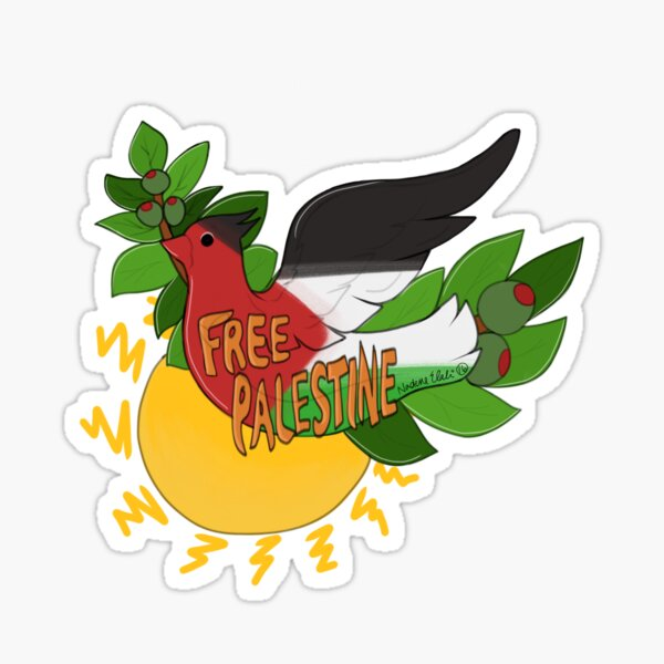 #FreePalestine  Sticker