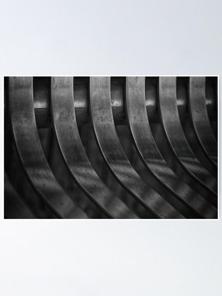 Alternate view of Steel Poster