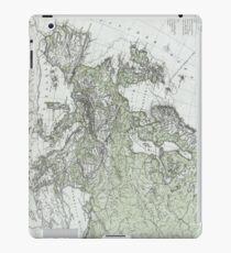 Vintage Map of Europe (1862) iPad Case/Skin
