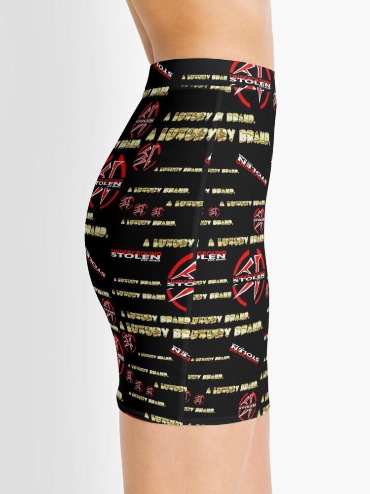 Alternate view of A LUXURY BRAND. Mini Skirt