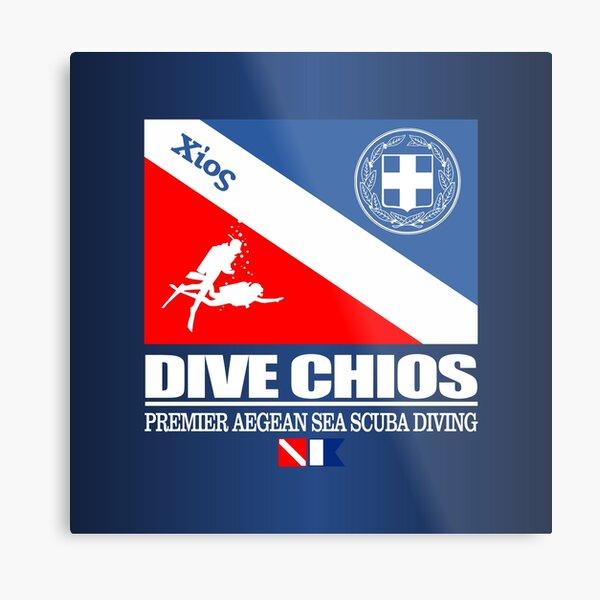 Dive Chios (DF) Metal Print