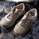 Arthritic silver dancing shoes by trisha22