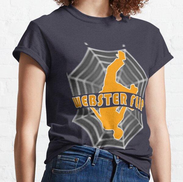 ✔️ Webster flip parkour move awesome illustration  ✔️ Classic T-Shirt