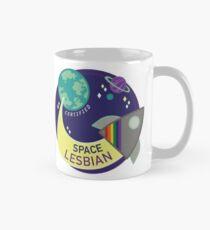 Zertifizierte Space Lesbian Tasse