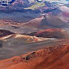 Haleakala Crater, Hawaii by Linda Sparks