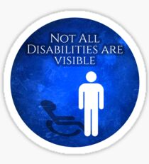Invisible Disability Sticker