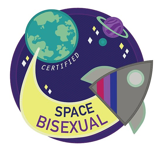 Certified Space Bisexual by cfpepperz11