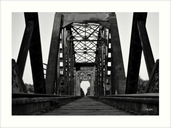 Brookshire Rail Road Bridge BW II by Nathan Little