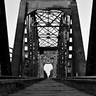 Brookshire Rail Road Bridge BW II by Nathan Little