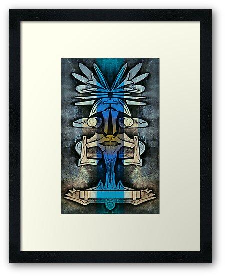 Soaring Down - Upside-Down Art by L. R. Emerson II by L R Emerson II