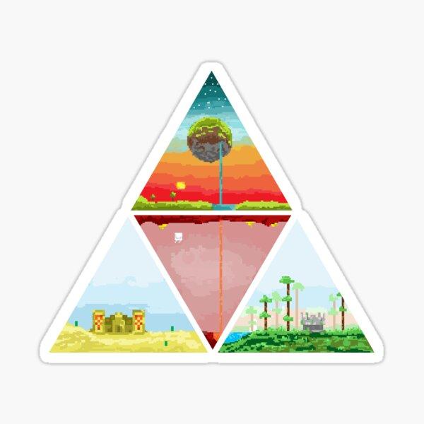 Biomes - Minecraft Sticker