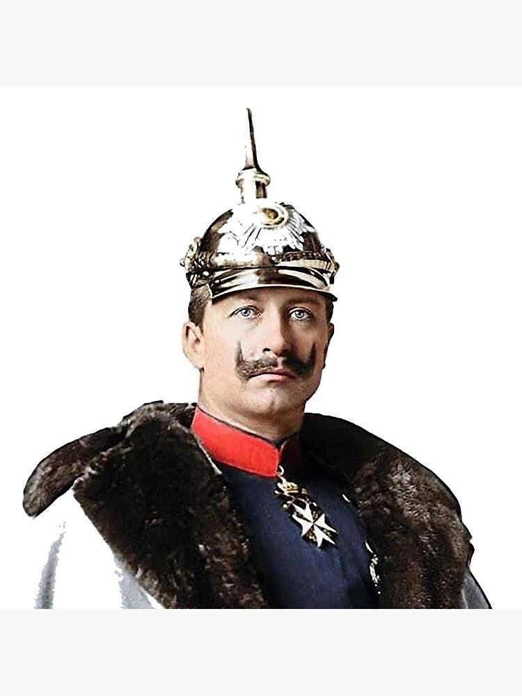 Kaiser Wilhelm II photo portrait  by edsimoneit