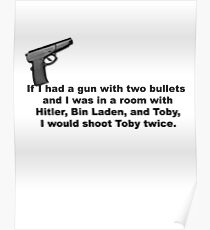 The Office, If I had a gun... Poster