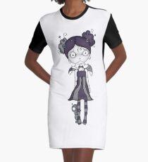 Voodoo Girl #1 Graphic T-Shirt Dress