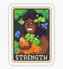Strength Tarot - Derowen Sticker