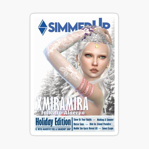 SimmedUp Magazine Issue 4 Sticker