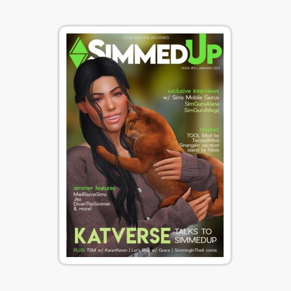 SimmedUp Magazine Issue 5 Sticker