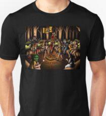The Skin Crawling Creeps - Cropsy - Sleepaway Camp - Cannibal Holocaust - Halloween - Pet Sematary - Stephen King - Jason Voorhees - Camp Crystal Lake Unisex T-Shirt