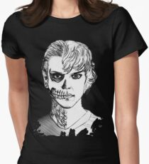 Tate - Darkness Women's Fitted T-Shirt