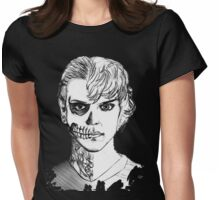 Tate - Darkness Womens Fitted T-Shirt