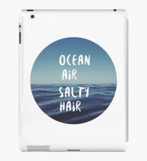 Ocean Air Salty Hair iPad Case/Skin