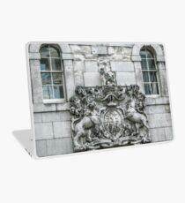 Royal Coat of Arms on the Tower of London Entrance Laptop Skin