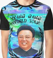 Wang Gang World Tour I Graphic T-Shirt