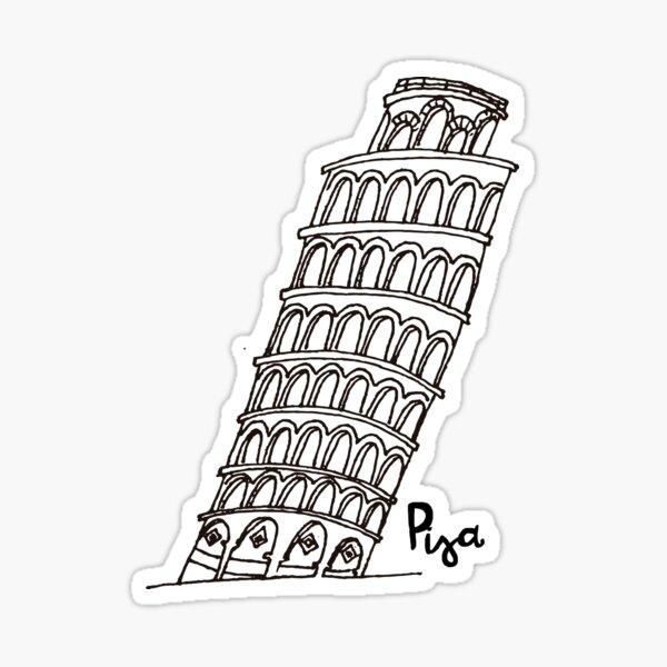 Pisa Sticker