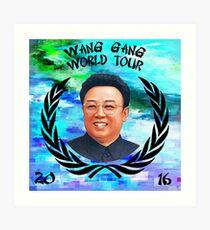 Wang Gang World Tour I Art Print