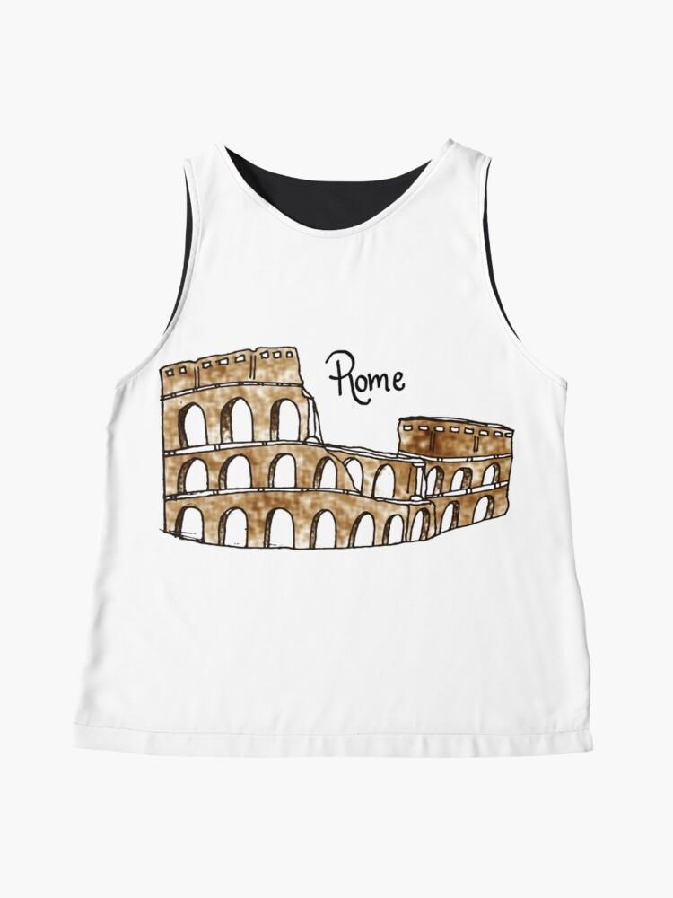 Vista alternativa de Blusa sin mangas Roma