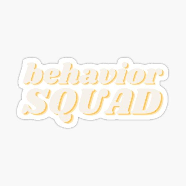 Retro Behavior Squad Sticker