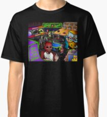 Post-Apocalyptic Arcade - The Monster Squad - Splatterhouse - Critters - The Gate - Friday the 13th - Return of the Living Dead Classic T-Shirt