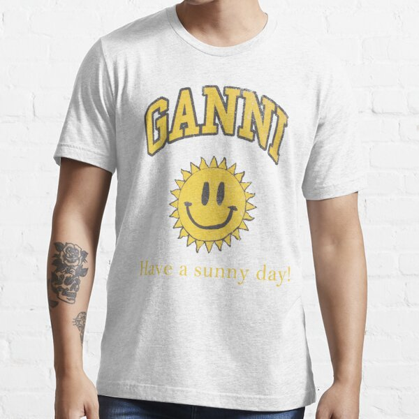 Ganni Have a Nice Day Essential T-Shirt