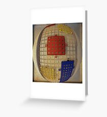 Egg Container Greeting Card